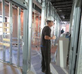 dr unkenholz during construction