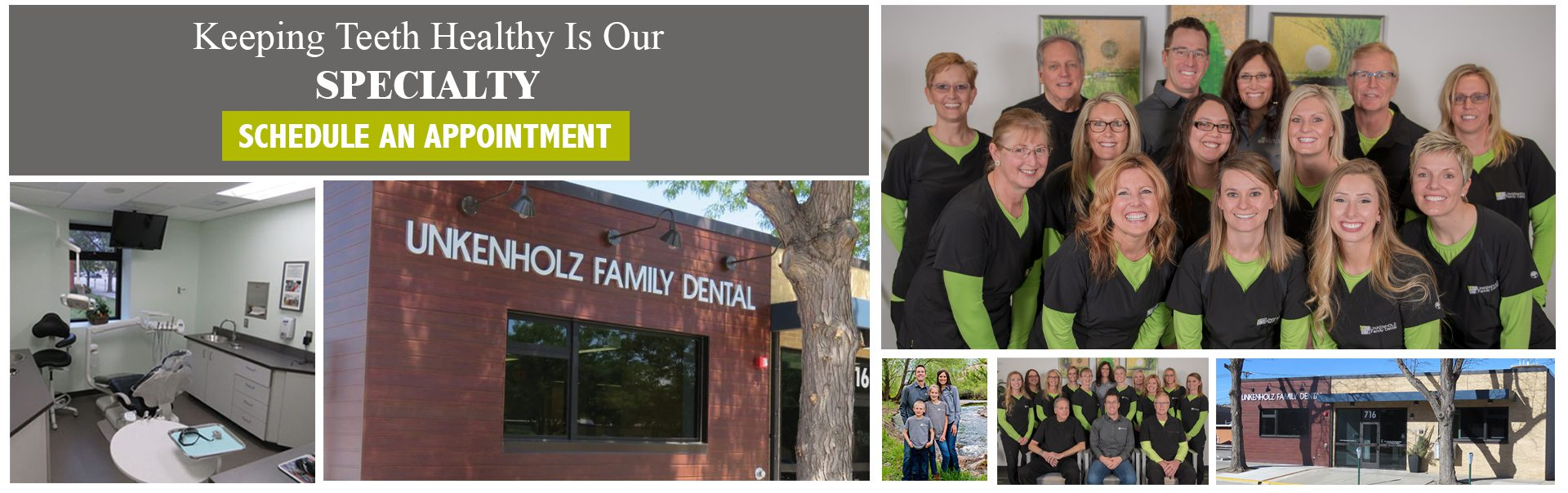 Unkenholz Family Dental Collage